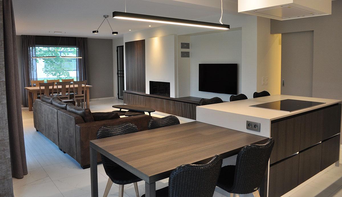 Realisaties we liv in interieur architecten for Strak interieur
